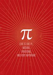 irrational love Pi