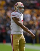 By Mike Morbeck - Flickr: Colin Kaepernick, CC BY-SA 2.0, https://commons.wikimedia.org/w/index.php?curid=30174119